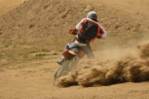 Lackschaden Motocross